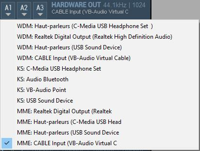 Clé USB DVstick 30 de DVMEGA : Configuration Equalizer Voice Meter Banana de VB-AUDIO 03-voice-meter-banana